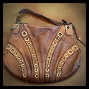 Brown Leather Cole Haan Satchel